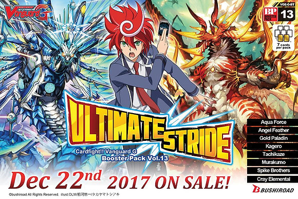 Cardfight Vanguard TCG: Ultimate Stride Sealed Booster Box (20ct)