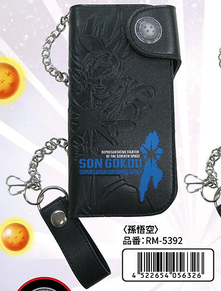 """""""Dragon Ball Super"""" Long Wallet with Chain Son Goku"""