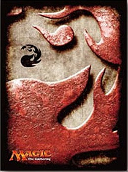 """MAGIC: The Gathering"" Players Card Sleeve Mana Symbol Mountain"