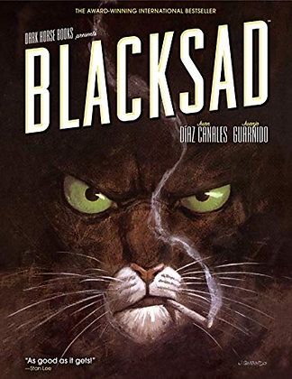 Blacksad Hardcover – June 22, 2010 by Juan Diaz Canales (Author), Juanjo Guarnid