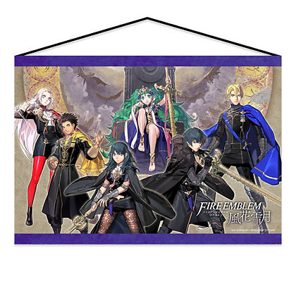"""Fire Emblem Three Houses"" Tapestry Main Character"