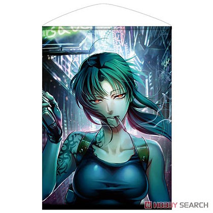 Black Lagoon Revy B2 Tapestry (Anime Toy)