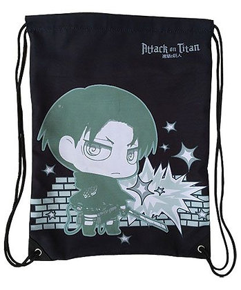 Backpack: Attack on Titan - SD Levi Drawstring