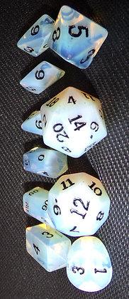 HYBRID Synthetic Opal Dwarven Stones 16mm 10 pc set