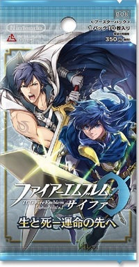 """Box of TCG-Z-FB8A TCG """"Fire Emblem Cipher"""" Booster Pack Sei to Shi - Unmei no S"""