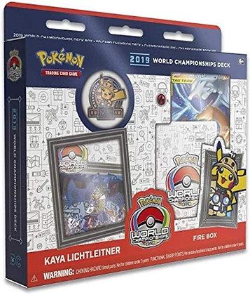 2019 Pokémon TCG World Championships Deck - Kaya Lichtleitner: Fire Box