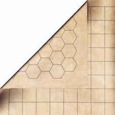 Double-Sided Megamat With 1 Inch Squares/Hexes CHESSEX MANUFACTURING