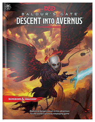 Baldur's Gate: Descent Into Avernus (Dungeons and Dragons Adventure Module) HC