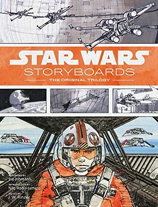 STAR WARS STORYBOARDS ORIGINAL TRILOGY HC (C: 0-1-1) ABRAMS COMICARTS (A) Joe J