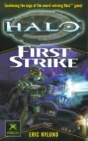HALO FIRST STRIKE X-BOX TIE IN MMPB (C: 0-1-2) RANDOM HOUSE by Eric Nylund Conti