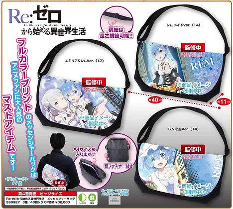 """one """"Re: Zero kara Hajimeru Isekai Seikatsu"""" Messenger Bag"""