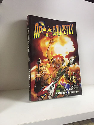 Apocalipstix Vol. 1 (Manga)Paperback – August 5, 2008  byRay Fawkes(Author),