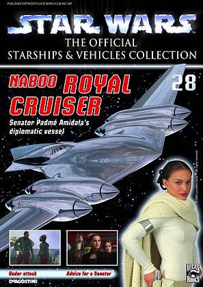 STAR WARS VEHICLES COLL MAG #28 NABOO CRUISER 977175696706028