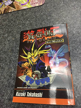 Yu-Gi-Oh! The Movie Ani-Manga with Slifer the Sky Dragon card
