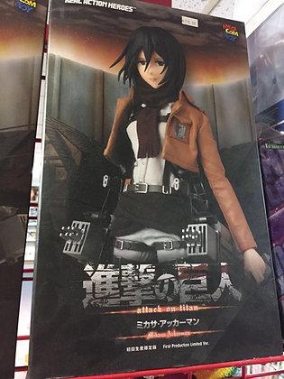 Medicom Attack on Titan Mikasa Ackerman Real Hero Action RAH Figure
