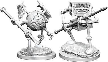 Dungeons & Dragons Nolzur`s Marvelous Unpainted Miniatures: Monodrone & Duodrone