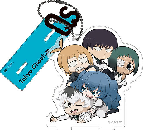 """""""Tokyo Ghoul:re"""" Acrylic Key Chain with Stand Collection Amekomi Style"""