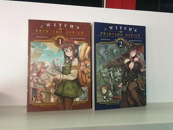 A Witch's Printing Office, Vol. 1,2 (Manga)Paperback Manga