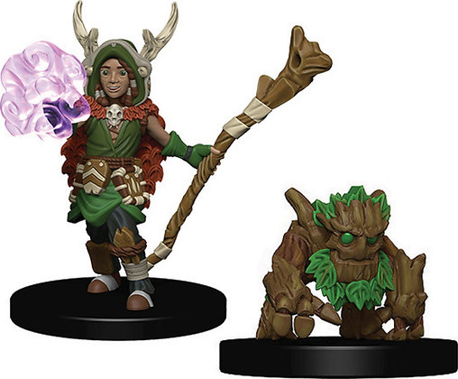 WizKids Wardlings: Boy Druid & Tree Creature WIZKIDS/NECA