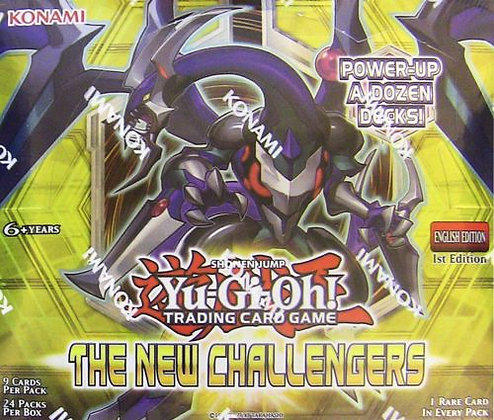 Yu-Gi-Oh The New Challengers Sealed 24 pack Booster Box