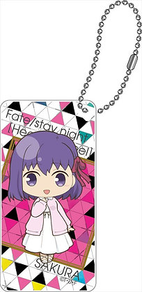 """Fate/stay night -Heaven's Feel-"" Domiterior Key Chain Mato Sakura"