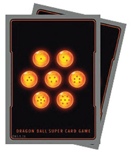 Dragon Ball Super: Standard Size Deck Protector Sleeves - Dragon Balls (65)