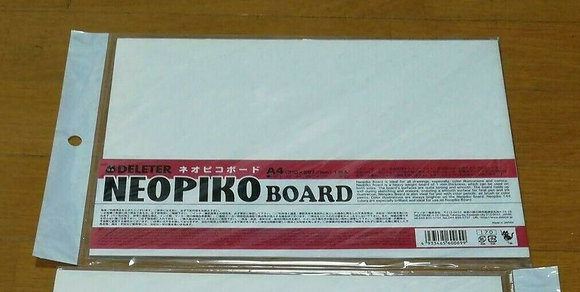 DELETER Art Products Neopiko Board A4 size (210X297mm) 1 sheet
