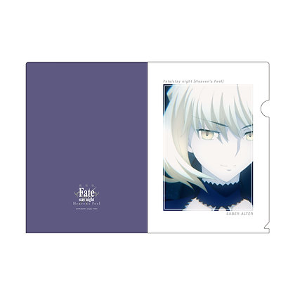 """""""Fate/stay night -Heaven's Feel-"""" A4 Clear File Vol. 2 Saber Alter"""