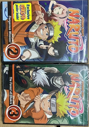 Naruto - Vol. 2 and 3 (DVD)