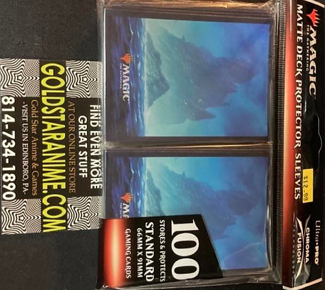 Magic The Gathering Card Sleeves - Unstable Island (100)