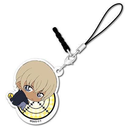 """Detective Conan"" Bocchi-kun Acrylic Charm Amuro Toru"