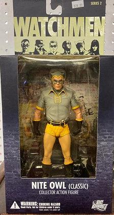 DC Comics Watchmen Nite Owl Classic Action Figure