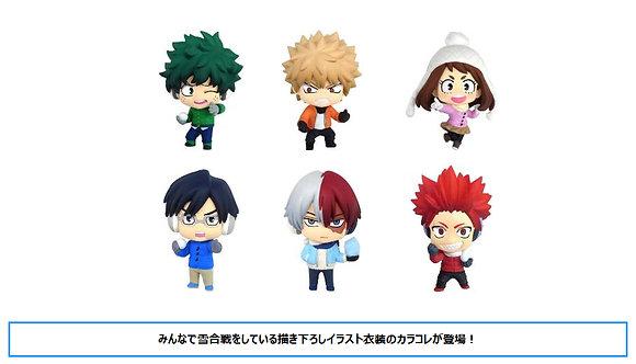 Color Collection My Hero Academia Vol.3 (Set of 6) (PVC Mini Figure)