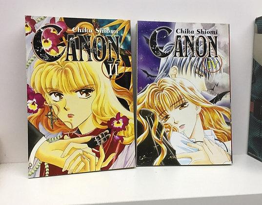 CanonVol. 1,2,4  Manga Paperback – April 18, 2007  byChika Shiomi(Author)