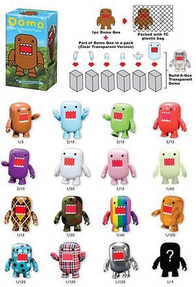 "Domo 2"" Mystery Figure Blind Single Box"