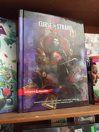 Curse of Strahd (Dungeons & Dragons) Hardcover – Illustrated, March 15, 2016