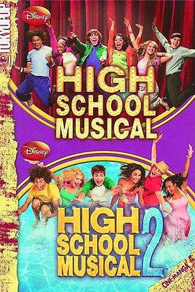 HIGH SCHOOL MUSICAL 1 & 2 DELUXE ED GN TOKYOPOP  Various
