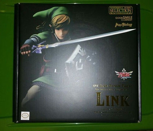 Good Smile The Legend of Zelda: Skyward Sword: Link PVC Figure Statue (1:7 Scale