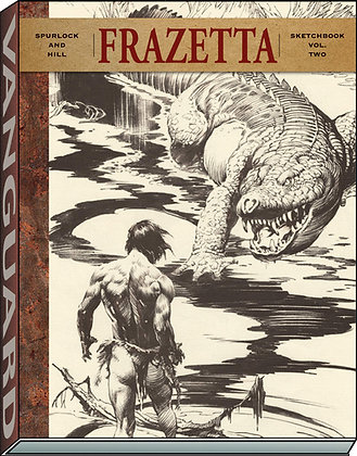 Frazetta Sketchbook (vol II) (Vanguard Frazetta Classics) Paperback – December 2