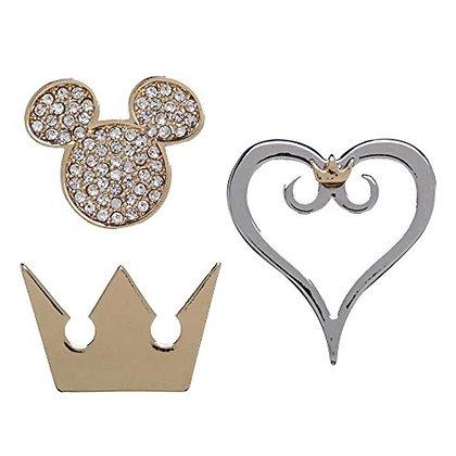 Kingdom Hearts Collectible Lapel Pins