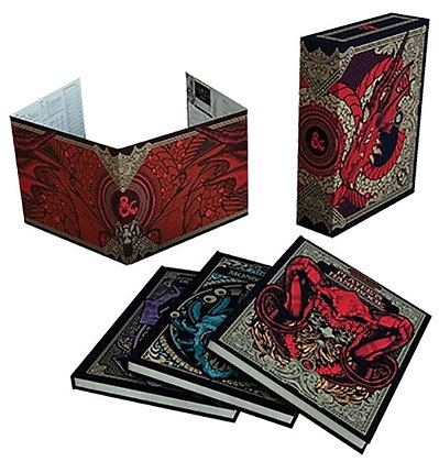 Dungeons and Dragons RPG: Core Rulebook Gift Set Limited Alternate Covers WIZARD