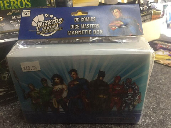 WizKids DC Comics Dice Masters: Justice League Team Magnetic Box