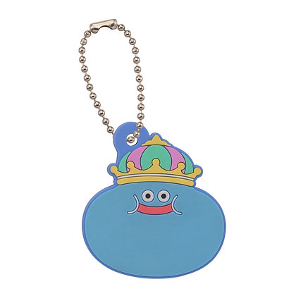 """Dragon Quest"" Smile Slime Key Cover King Slime"