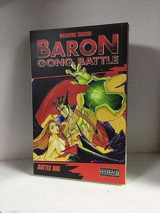 Baron Gong Battle Volume 1 Manga Paperback – March 1, 2005  MEDIA BLASTERS