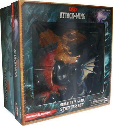 DUNGEONS AND DRAGONS ATTACK WING STARTER MINIATURES GAME