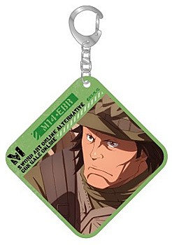 """Sword Art Online Alternative Gun Gale Online"" PVC Clear Key Chain"