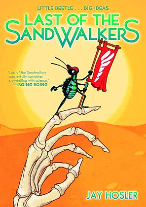 LAST OF SANDWALKERS GN :01 FIRST SECOND (W/A/CA) Jay Hosler Nestled in the grass