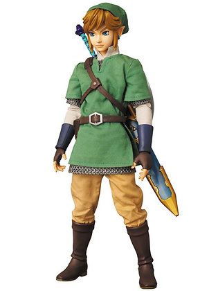 "RAH ""The Legend of Zelda Skyward Sword"" Link Medicom Toy"