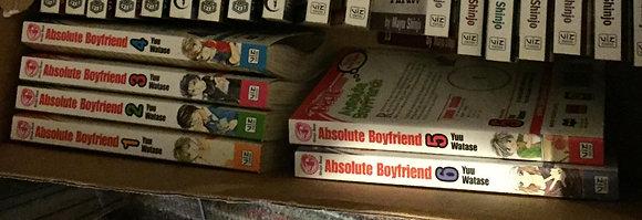 Absolute Boyfriend GN VOL 1,2,3,4,5,6, Manga