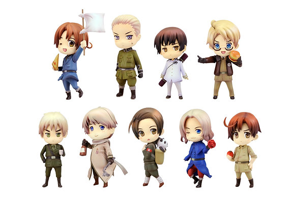 "One Coin Grande Figure Collection ""Hetalia Axis Powers"" Renewal Package Edition"